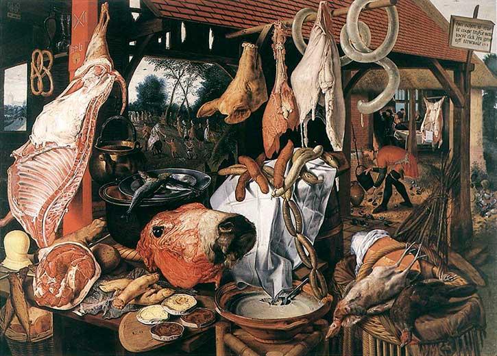 La storia della carne