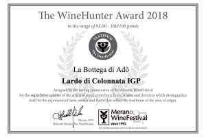 The WineHunter Award Platinum